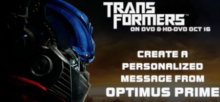 Honey, It's Optimus Prime On The Phone -- For You!