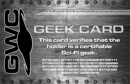 GWC Geek Card