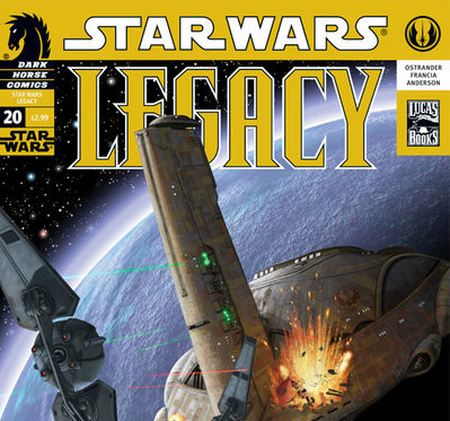 New Star Wars Legacy Arc Ships Today