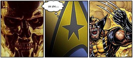 Star Trek XI Vs. Wolverine And The Terminator