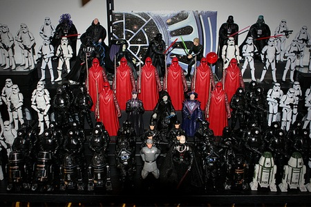 One Incredible Star Wars Figure Collection