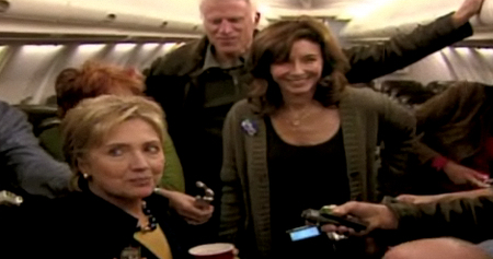Clara Clayton Kicks Back With Hillary Clinton