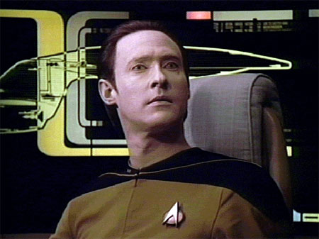 Lt. Cmdr. Data...