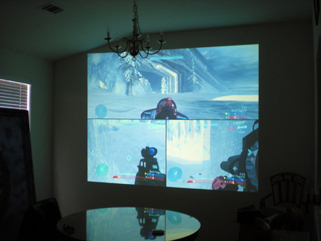 "Halo On The 154 Inch ""Screen"""