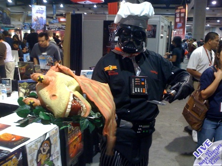 Live From SDCC: The Next Food Network Star?