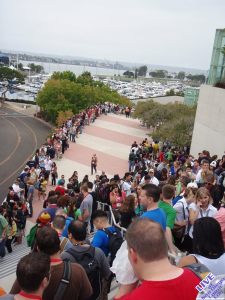 Live From SDCC: Saturday, Part I