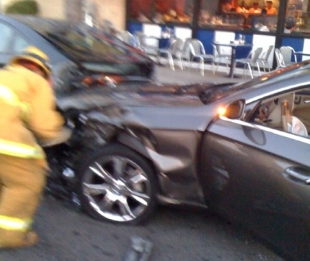 LeVar Burton Hit By Car -- He's OK!