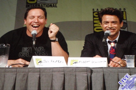 Live From SDCC: The Iron Man 2 Panel