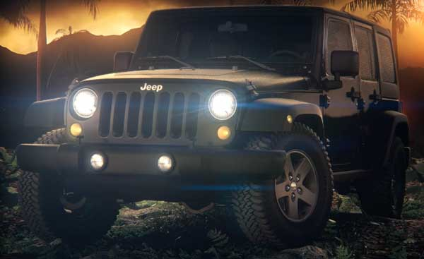Gamer's Wheels: Call of Duty Black Ops Jeep